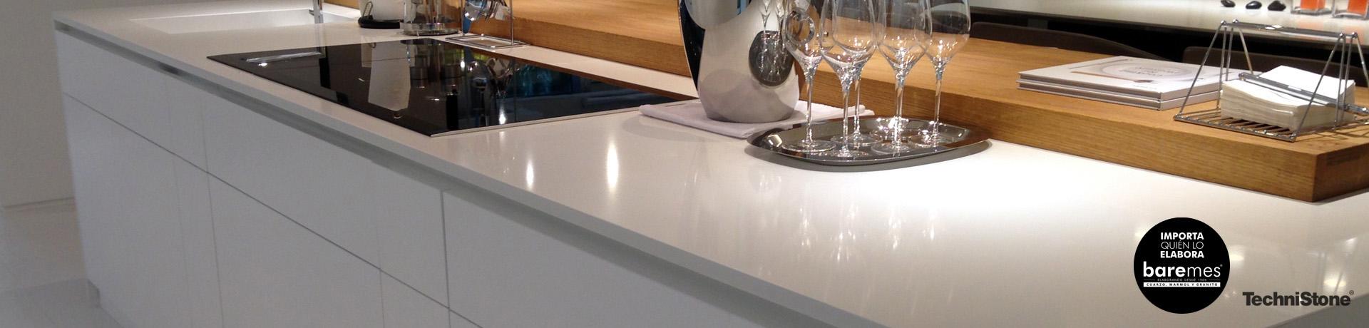 mesadas de cocina modernas al precio de un buen granito
