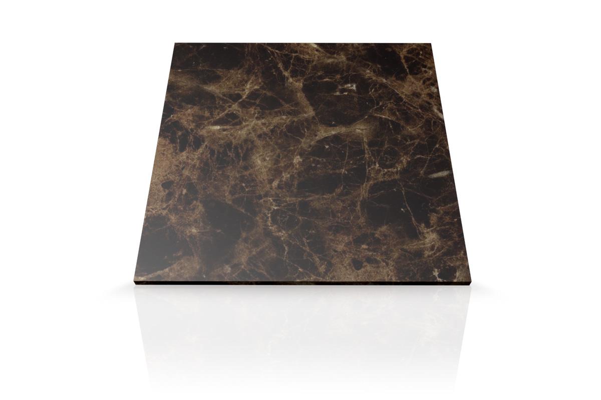 Mesada de marmol marr n emperador para ba o mesadas baremes for Marmol para banos precios
