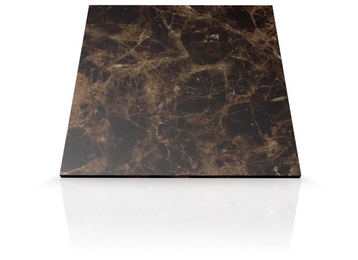 Mesada de marmol marr n emperador para ba o mesadas baremes for Marmol color marron