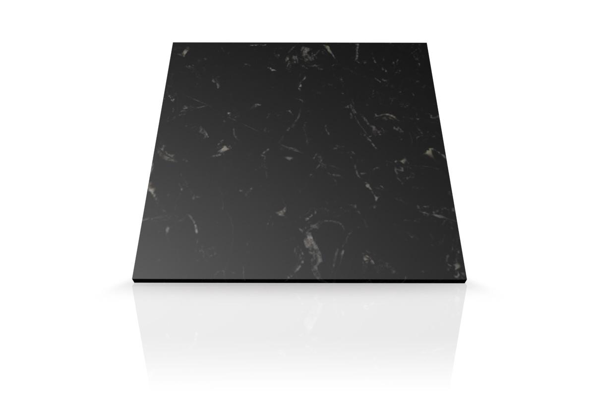 Marmol negro marquina mesada para ba o mesadas baremes for Marmol negro precio